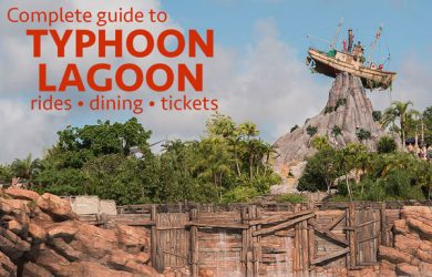 typhoonlagoon 390x250 - Complete guide to Typhoon Lagoon (including rides, dining, and tickets)