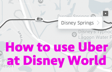 uber 2 390x250 - How to use Uber at Disney World