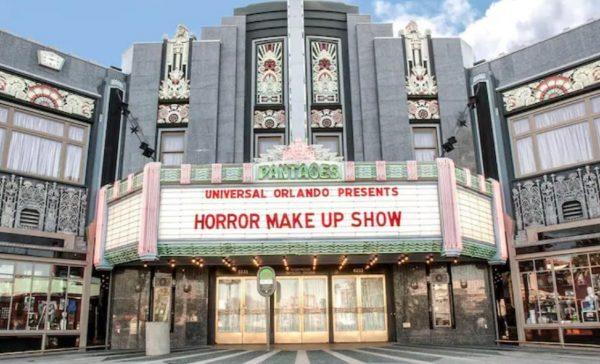 universal orlando's horror make up show