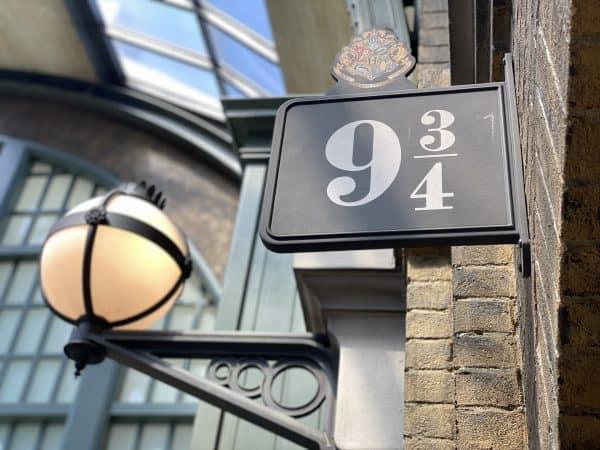 platform nine and three quarters hogwarts express