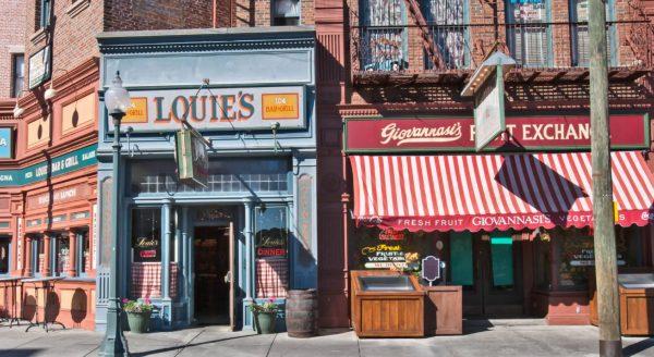 louie's restaurant universal studios