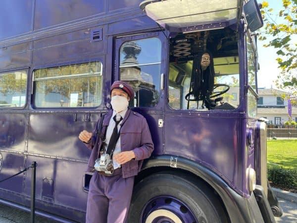 knight bus in diagon alley