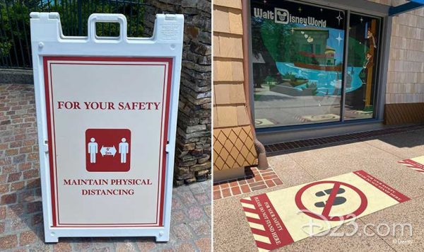 Disney Springs reopening health and safety procedures