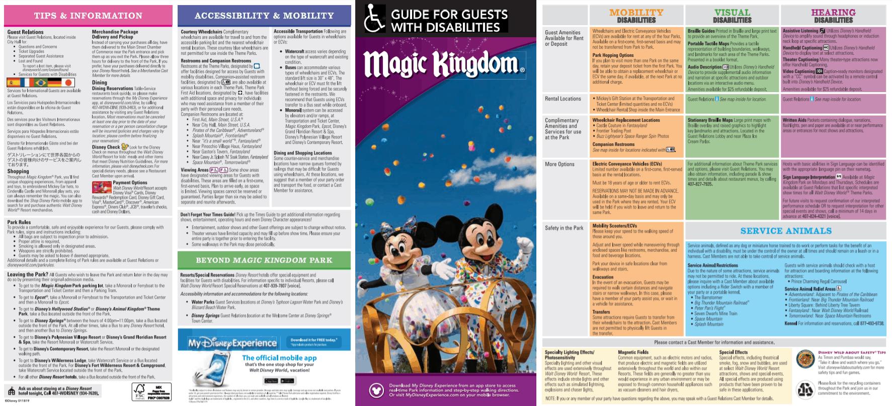 Magic Kingdom Disability Guide