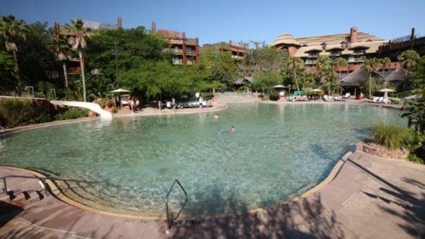 Uzima Springs Pool at Disney's Animal Kingdom Lodge
