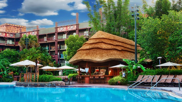 Animal Kingdom Lodge – Temporarily Closed - Uzima Springs Pool Bar – Temporarily Closed