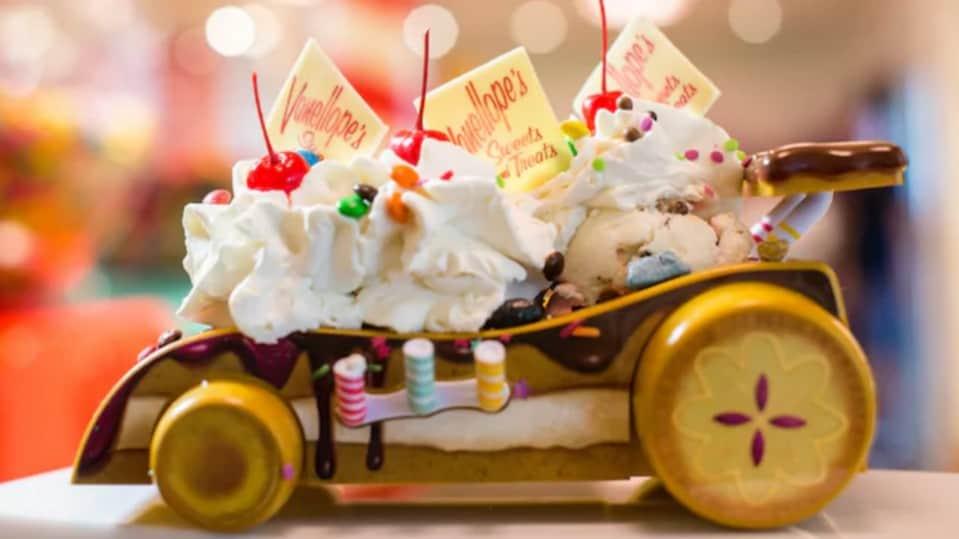 Vanellope's Sweet Treats on the Disney Cruise Line