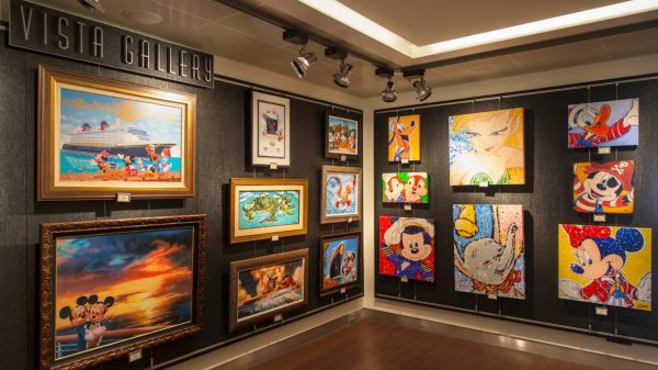 Vista Gallery on Disney Cruise Line