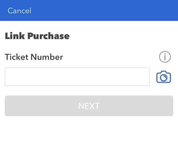 linking tickets universal orlando app