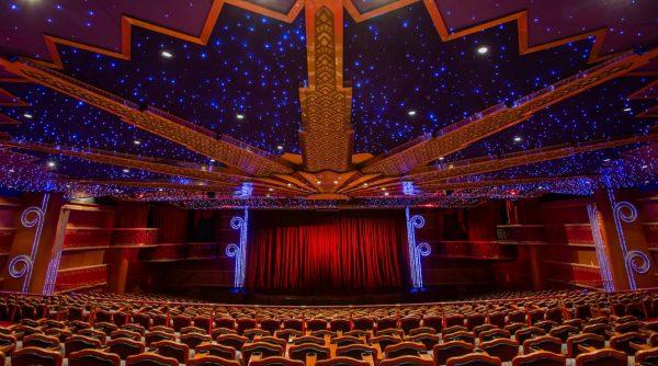 Walt Disney Theatre on Disney Cruise Line