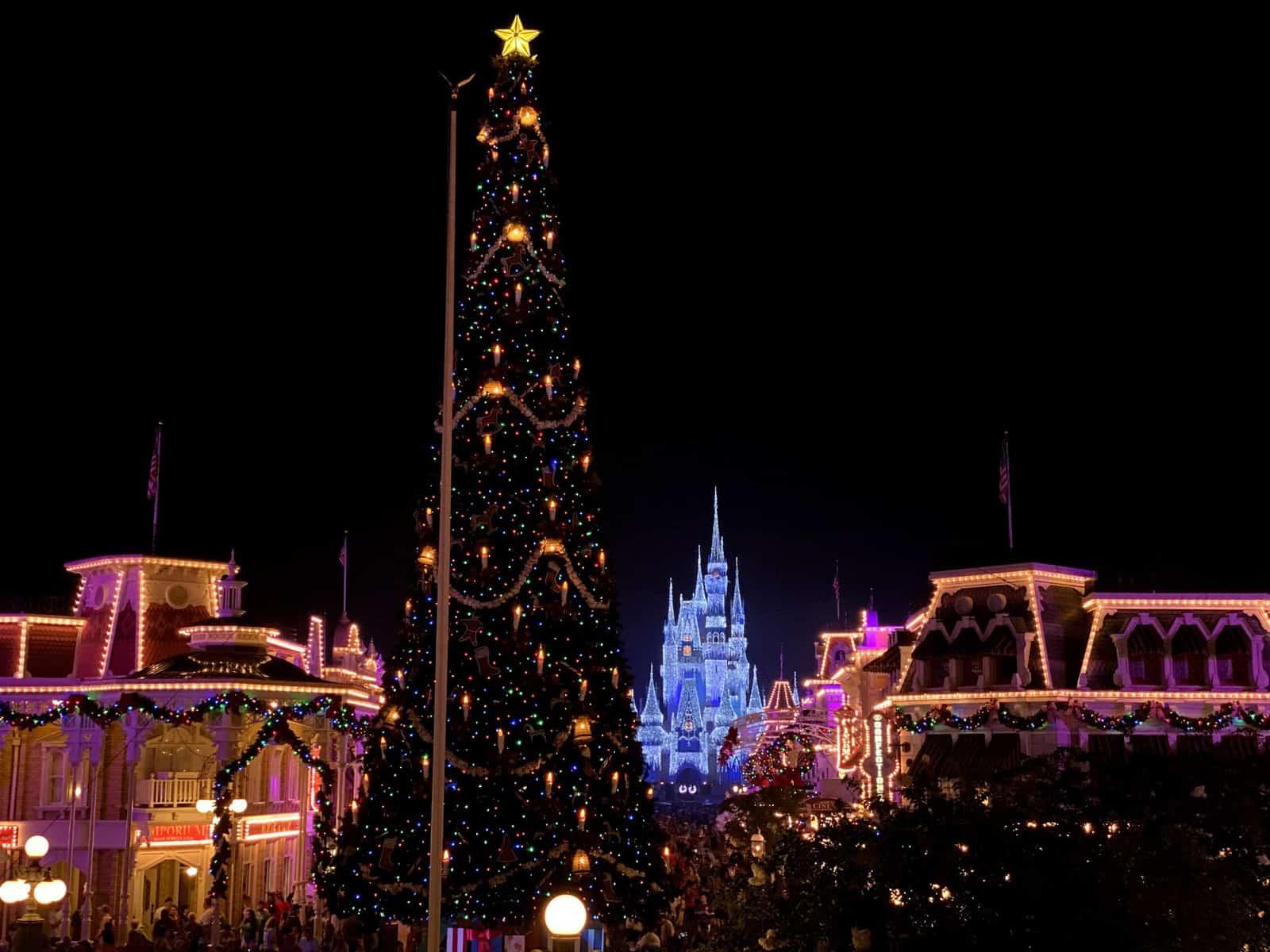 Christmas at Magic Kingdom