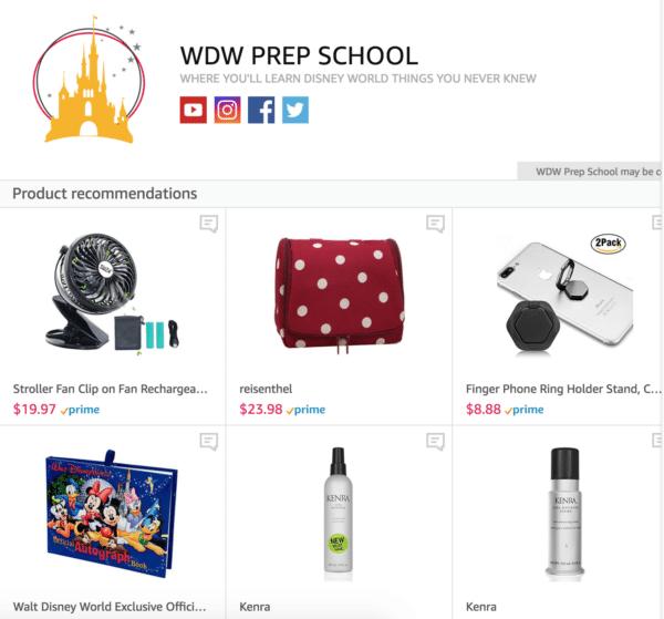 wdwprepamazonshop 600x559 - The ultimate Disney World packing list - Word, PDF and Google Docs formats