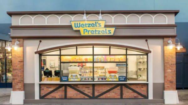 Wetzel's Pretzels in Disney Springs West Side