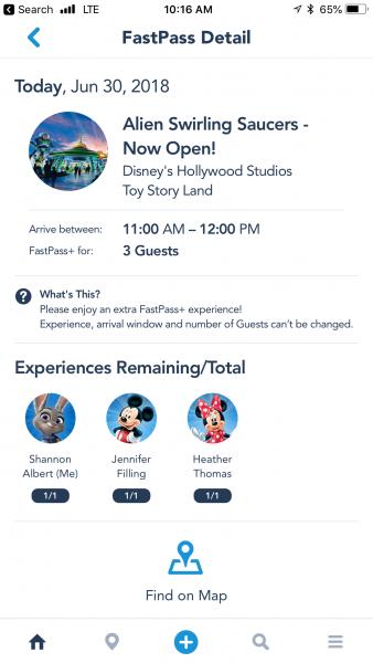 Extra Fastpasses Disney Club Level