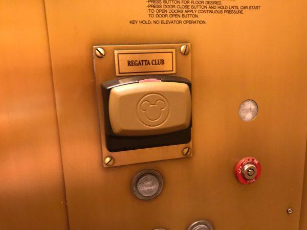 Disney club level elevator