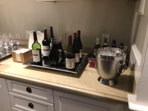 Club level wine