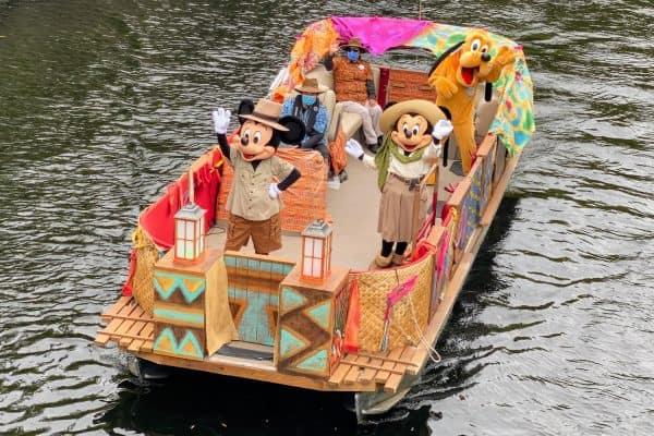 Animal Kingdom Mickey Mouse Flotilla