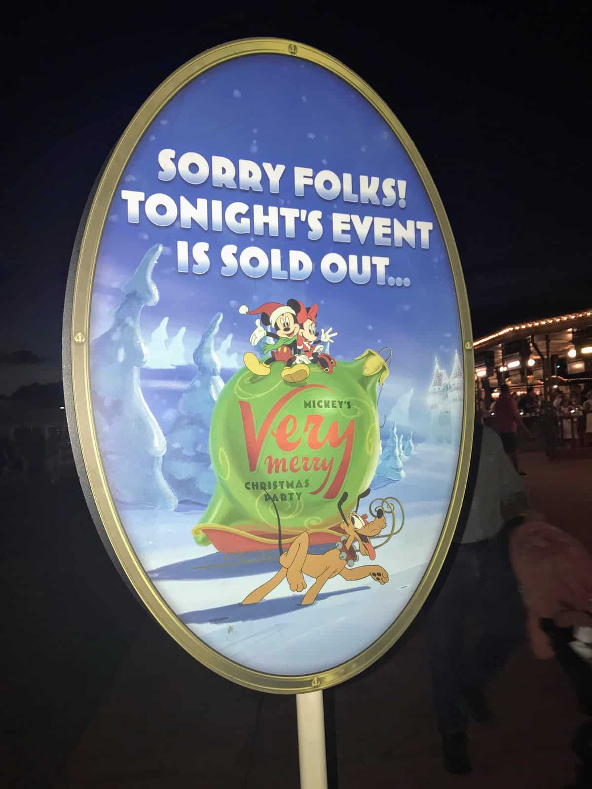 Special Ticketed Event Magic Kingdom