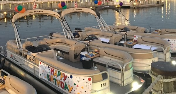 firework pontoon boats specialty cruises