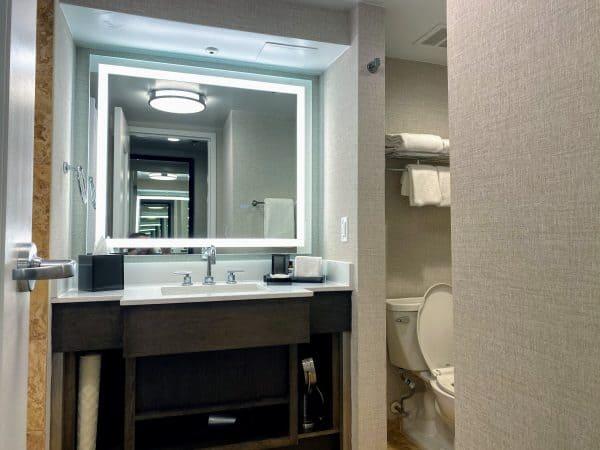 Hyatt Regency Day Use Room Bathroom