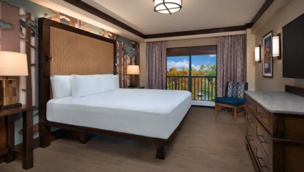 wilderness lodge updated king room