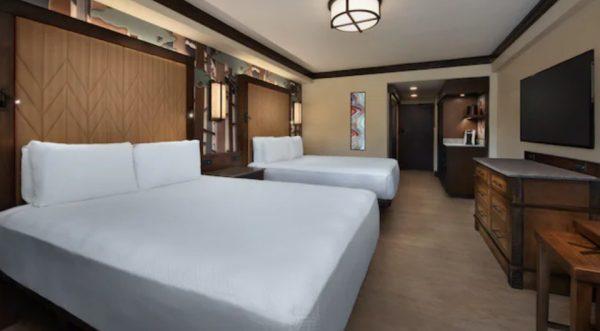 wilderness lodge updated standard room club level