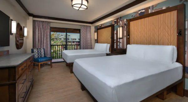 wilderness lodge updated standard room