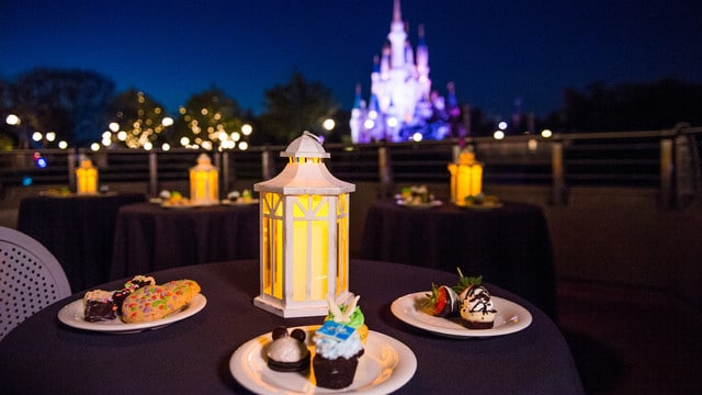 wishesdessertparty - Best restaurants at Disney World for fireworks viewing