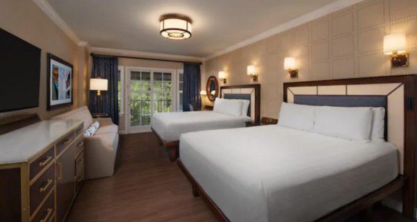 Disney's Yacht Club standard room