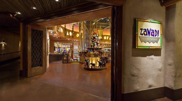 Zawadi Marketplace gift shop at Disney's Animal Kingdom Lodge